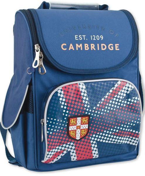 c4058e6cab8c Ранцы и рюкзаки школьные 1Вересня. - Рюкзак каркасный H-11 Cambridge blue  553304 ТМ