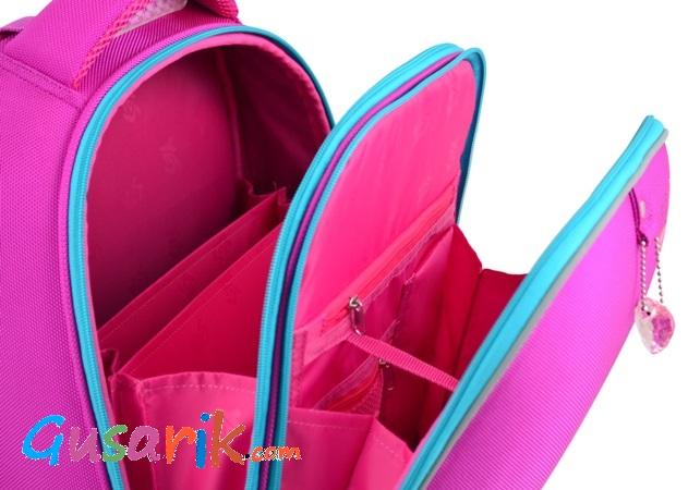 2d194d594e44 ... Розовый ранец для девочки 1 класс H-12-1 Butterfly rose 1Вересня Yes  554492