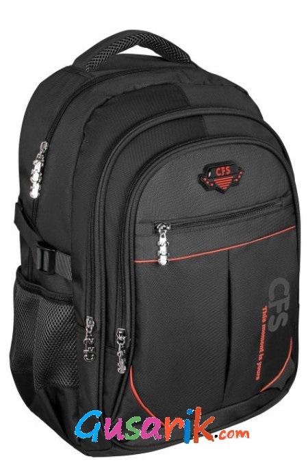 Рюкзаки для подростков Cool for School - Черный молодежный рюкзак 17 для  прогулок и в школу 23318b27d28