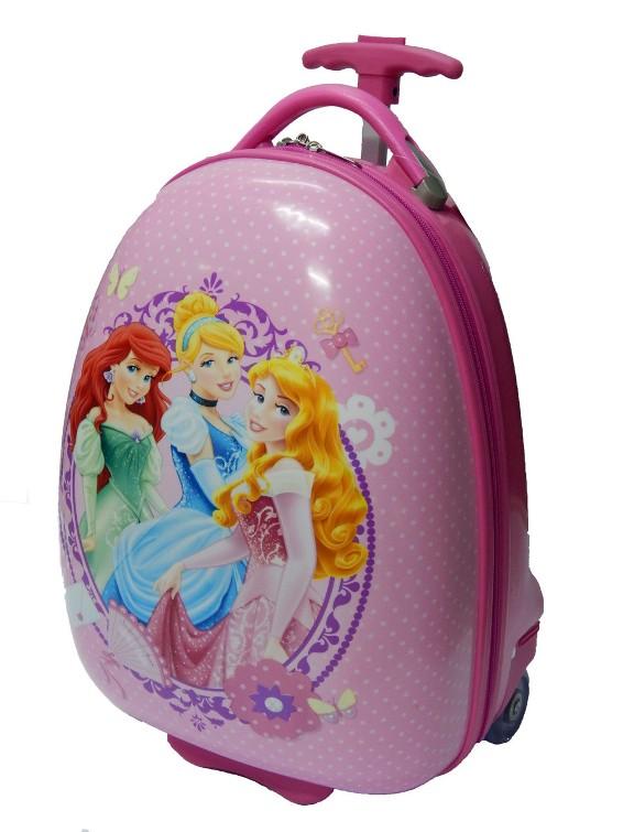 Купить дорожный чемодан на колесах для девочки